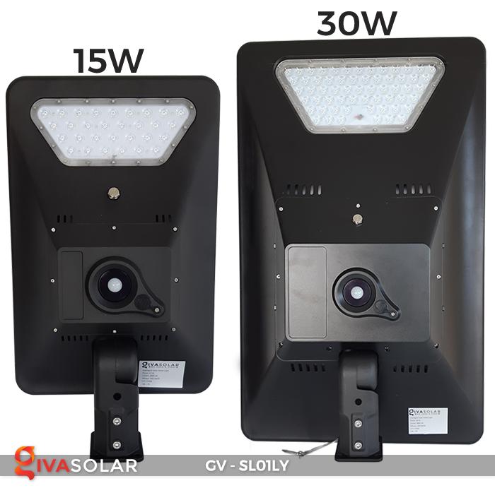 Đèn đường năng lượng mặt trời GV-SL01LY 2