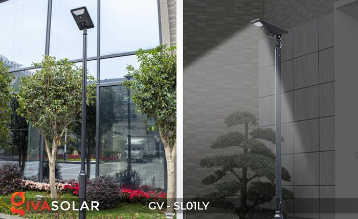 Đèn đường năng lượng mặt trời GV-SL01LY 24