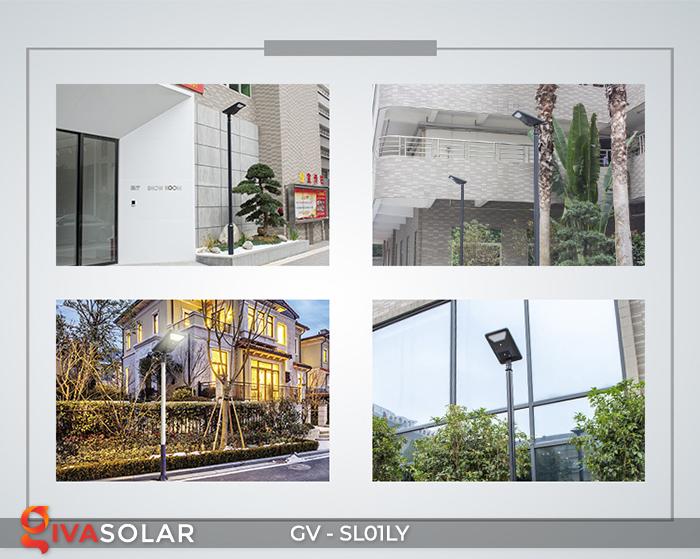 Đèn đường năng lượng mặt trời GV-SL01LY 26