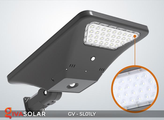 Đèn đường năng lượng mặt trời GV-SL01LY 7