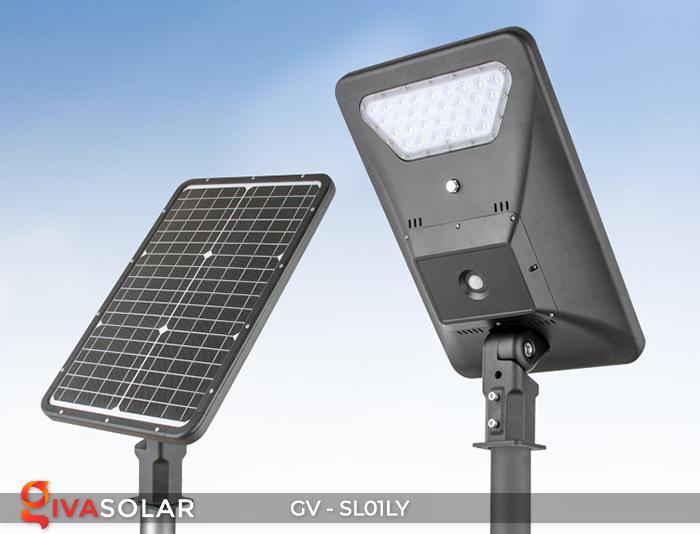 Đèn đường năng lượng mặt trời GV-SL01LY 8