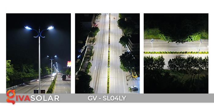Đèn đường năng lượng mặt trời cao cấp GV-SL04LY 20