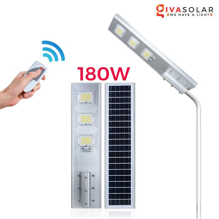 Đèn đường cao cấp năng lượng mặt trời GV-SL0856