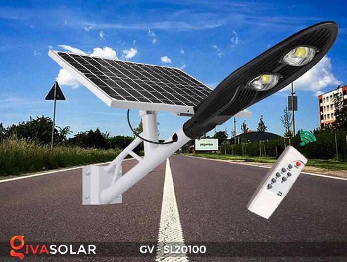 Đèn đường chạy năng lượng mặt trời GV-SL20100 14
