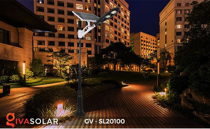 Đèn đường chạy năng lượng mặt trời GV-SL20100 16