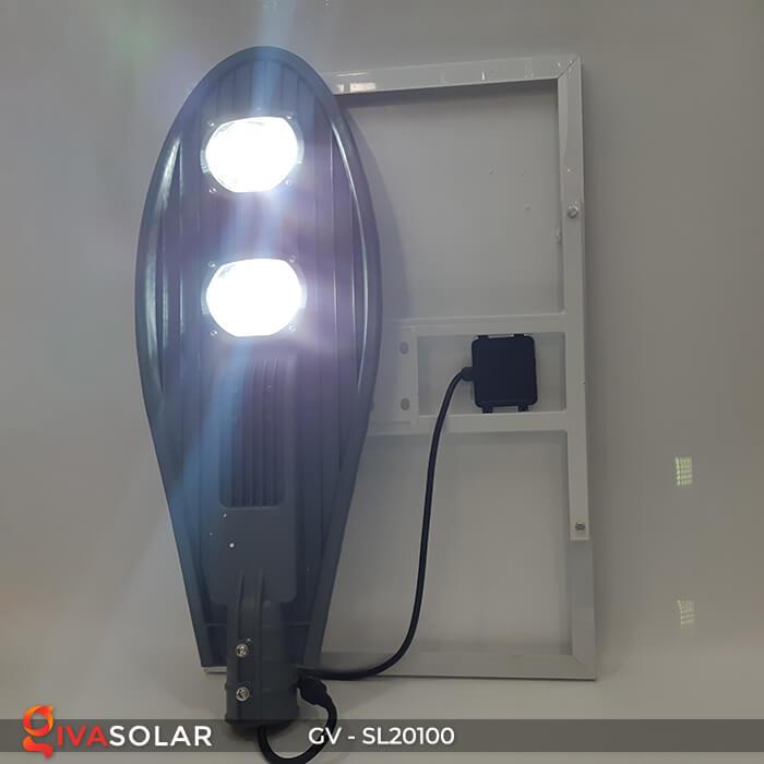 Đèn đường chạy năng lượng mặt trời GV-SL20100 2