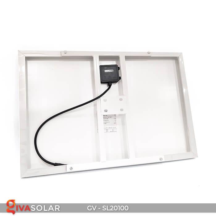 Đèn đường chạy năng lượng mặt trời GV-SL20100 9