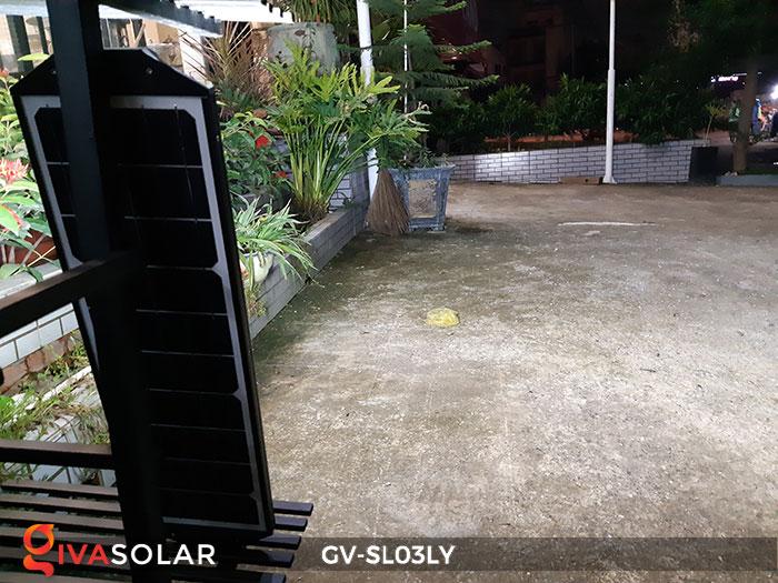 Đèn đường thông minh năng lượng mặt trời GV-SL03LY 1