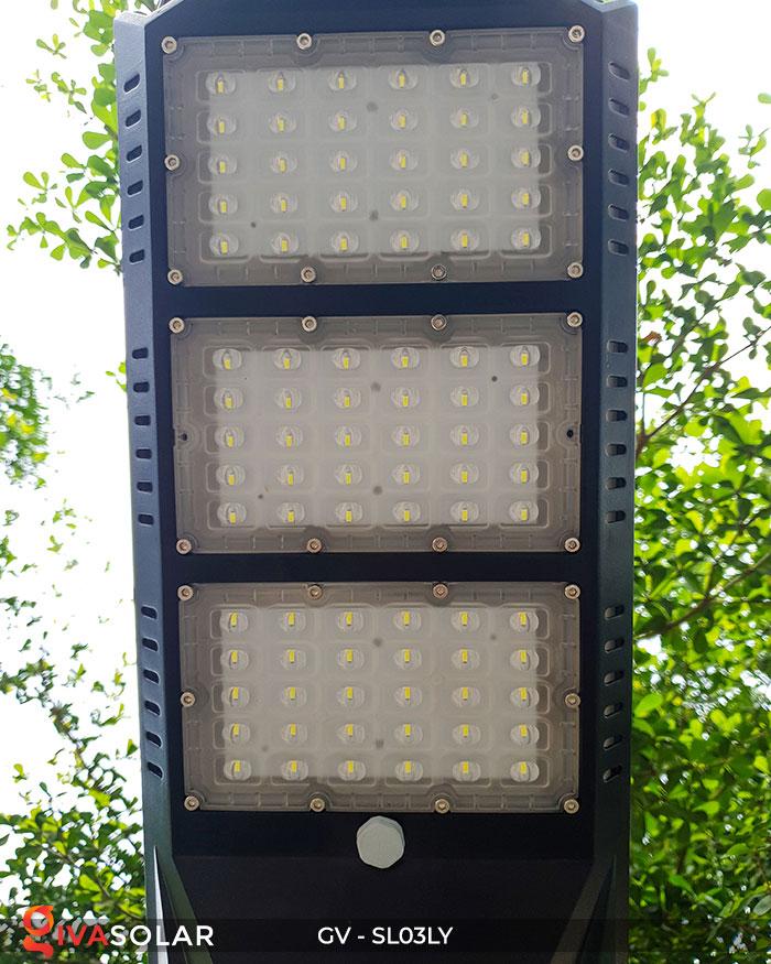 Đèn đường thông minh năng lượng mặt trời GV-SL03LY 12