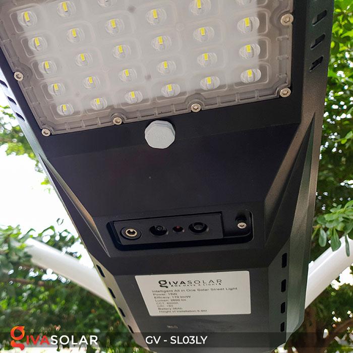 Đèn đường thông minh năng lượng mặt trời GV-SL03LY 13