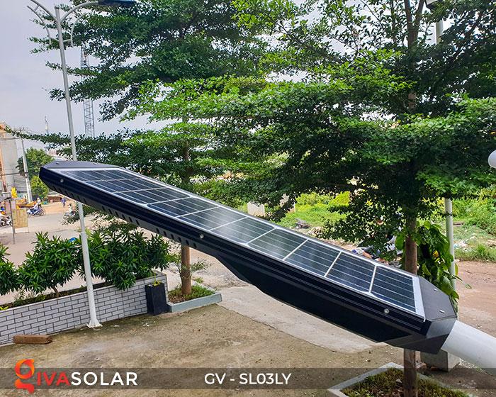 Đèn đường thông minh năng lượng mặt trời GV-SL03LY 7