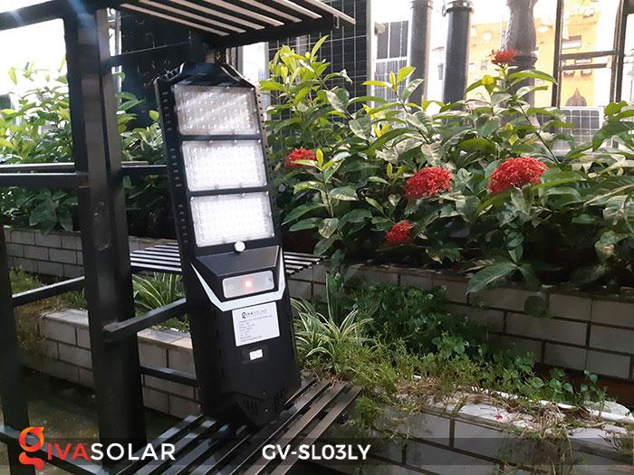 Đèn đường thông minh năng lượng mặt trời GV-SL03LY