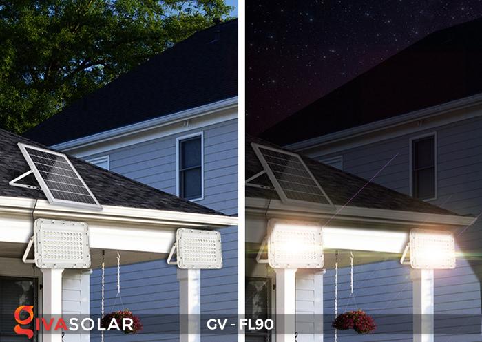 Đèn pha năng lượng mặt trời GV-FL90 17