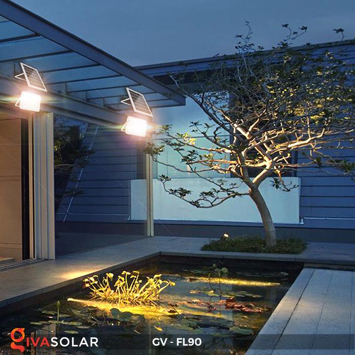 Đèn pha năng lượng mặt trời GV-FL90 18