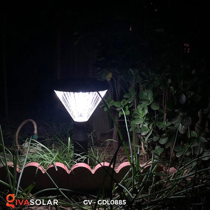 Đèn năng lượng mặt trời sân vườn GV-GDL0885 10