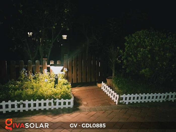 Đèn năng lượng mặt trời sân vườn GV-GDL0885 11
