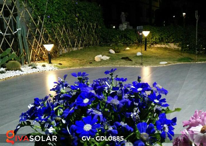 Đèn năng lượng mặt trời sân vườn GV-GDL0885 12