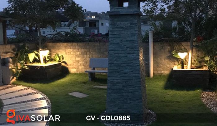 Đèn năng lượng mặt trời sân vườn GV-GDL0885 14