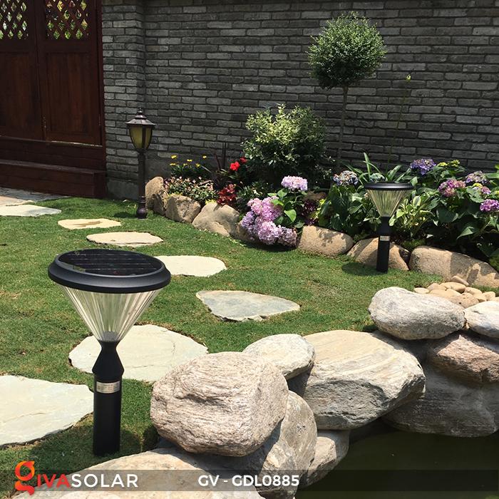 Đèn năng lượng mặt trời sân vườn GV-GDL0885 19