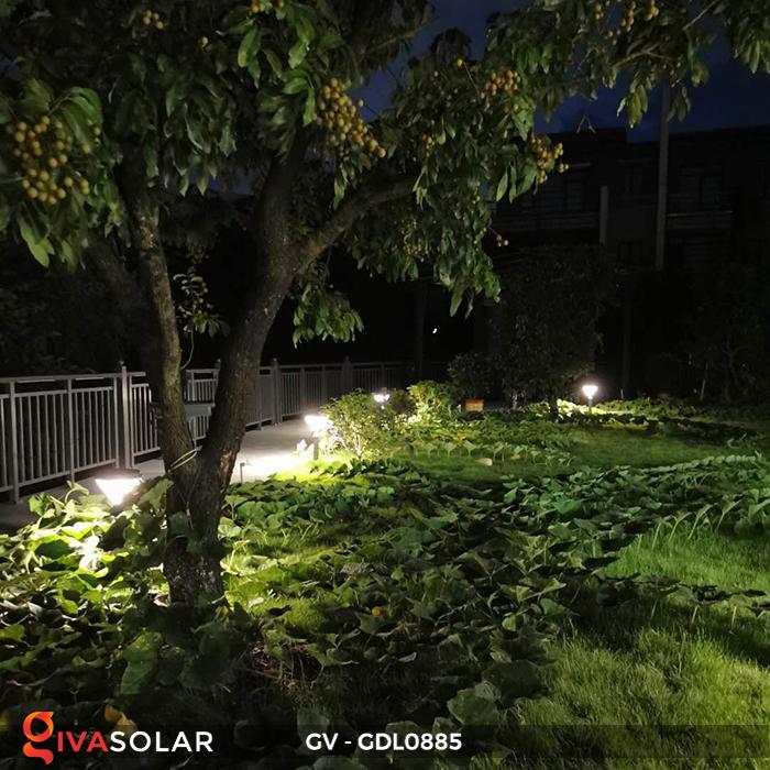 Đèn năng lượng mặt trời sân vườn GV-GDL0885 3