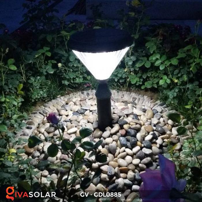 Đèn năng lượng mặt trời sân vườn GV-GDL0885 9