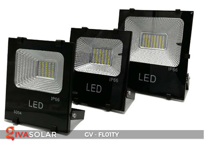 Đèn pha năng lượng mặt trời thông minh GV-FL01TY 1
