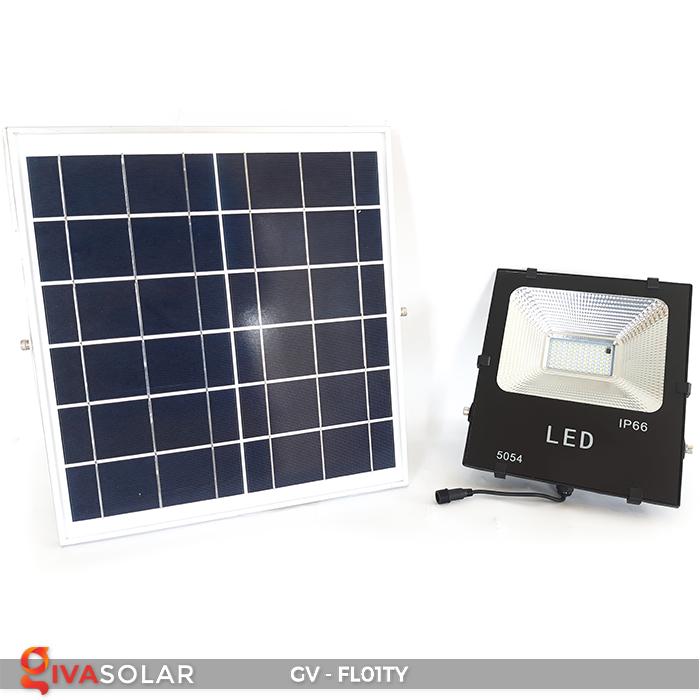 Đèn pha năng lượng mặt trời thông minh GV-FL01TY 14