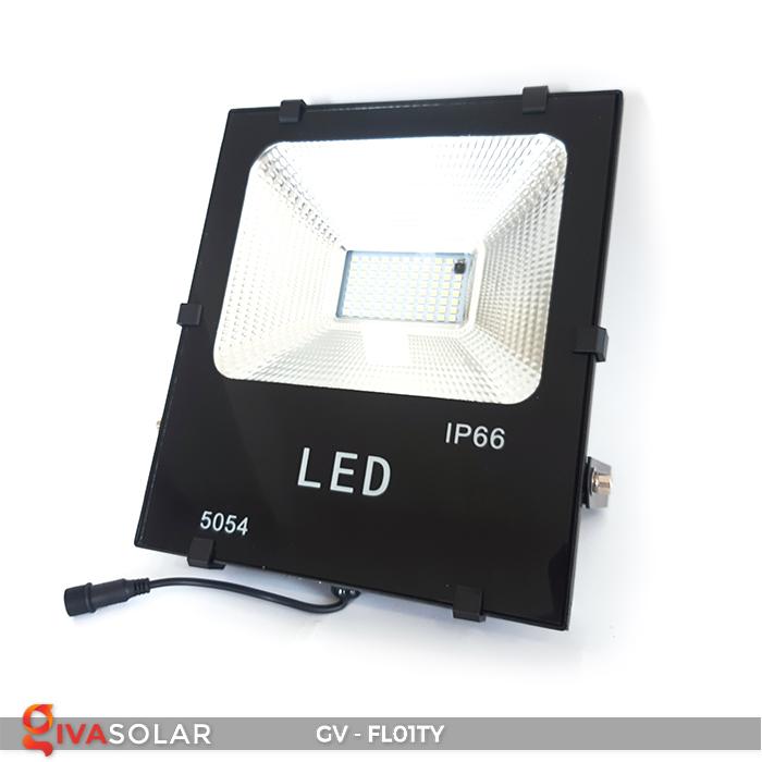 Đèn pha năng lượng mặt trời thông minh GV-FL01TY 15