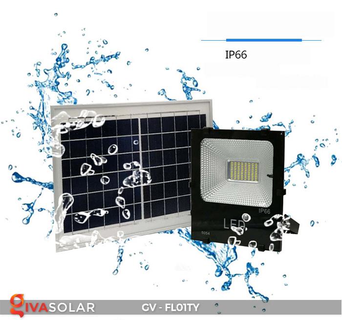 Đèn pha năng lượng mặt trời thông minh GV-FL01TY 20