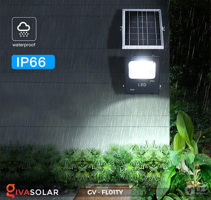 Đèn pha năng lượng mặt trời thông minh GV-FL01TY 22