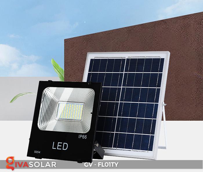 Đèn pha năng lượng mặt trời thông minh GV-FL01TY 23