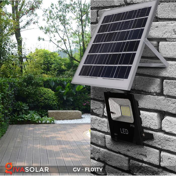 Đèn pha năng lượng mặt trời thông minh GV-FL01TY 27