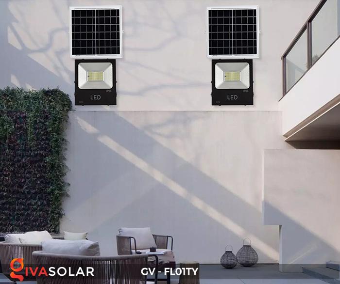 Đèn pha năng lượng mặt trời thông minh GV-FL01TY 29