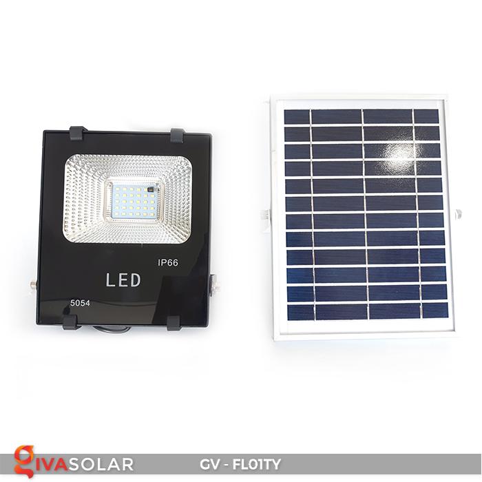 Đèn pha năng lượng mặt trời thông minh GV-FL01TY 3