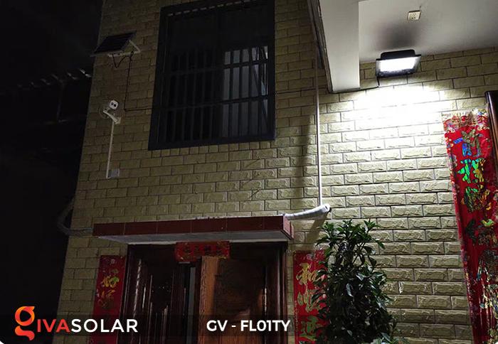 Đèn pha năng lượng mặt trời thông minh GV-FL01TY 30