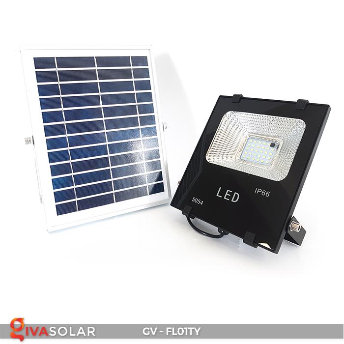 Đèn pha năng lượng mặt trời thông minh GV-FL01TY 4