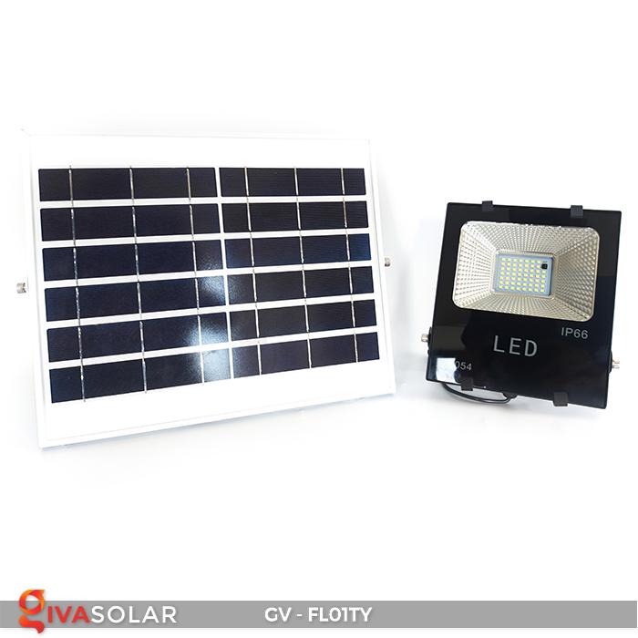Đèn pha năng lượng mặt trời thông minh GV-FL01TY 9