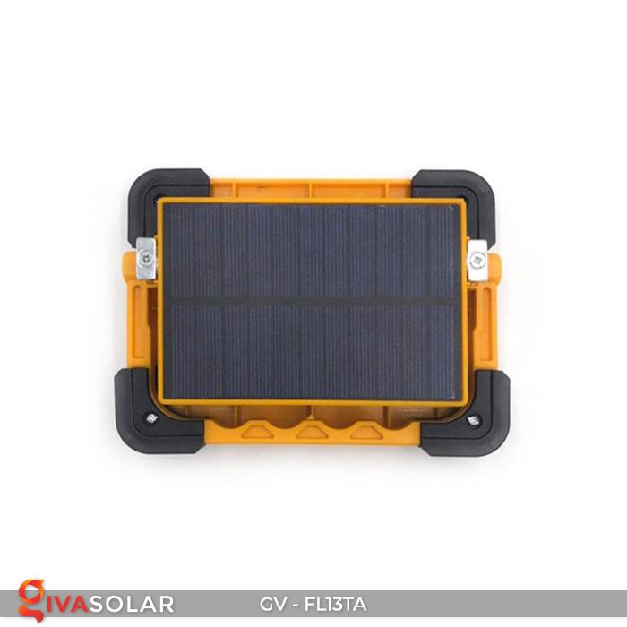 Đèn pha sạc mini năng lượng mặt trời GV-FL13TA 10