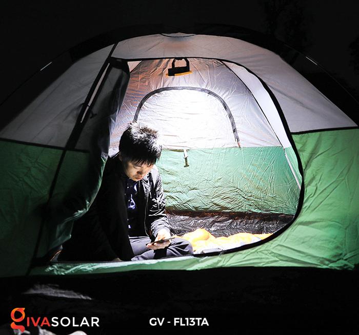 Đèn pha sạc mini năng lượng mặt trời GV-FL13TA 14