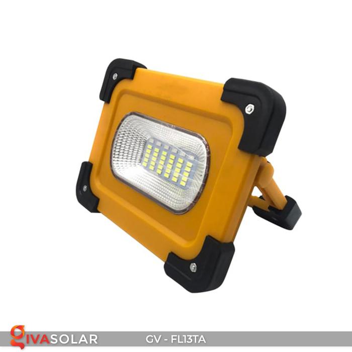 Đèn pha sạc mini năng lượng mặt trời GV-FL13TA 3