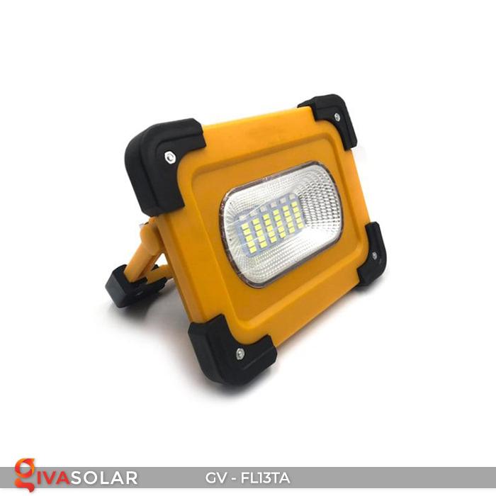 Đèn pha sạc mini năng lượng mặt trời GV-FL13TA 5