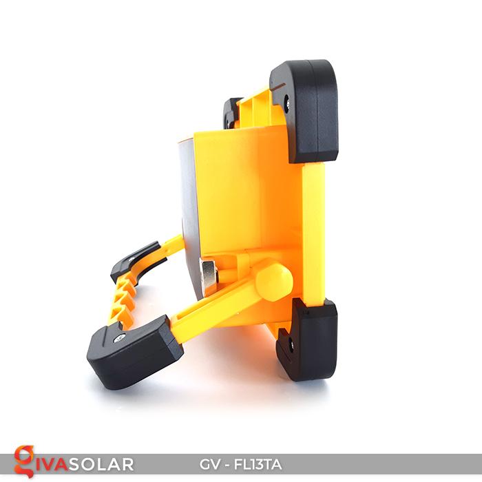 Đèn pha sạc mini năng lượng mặt trời GV-FL13TA 6