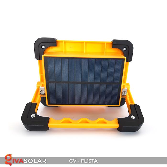 Đèn pha sạc mini năng lượng mặt trời GV-FL13TA 8