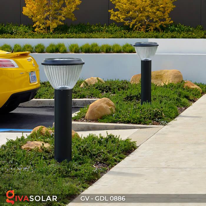 Đèn trụ sân vườn chạy năng lượng mặt trời GV-GDL0886 15