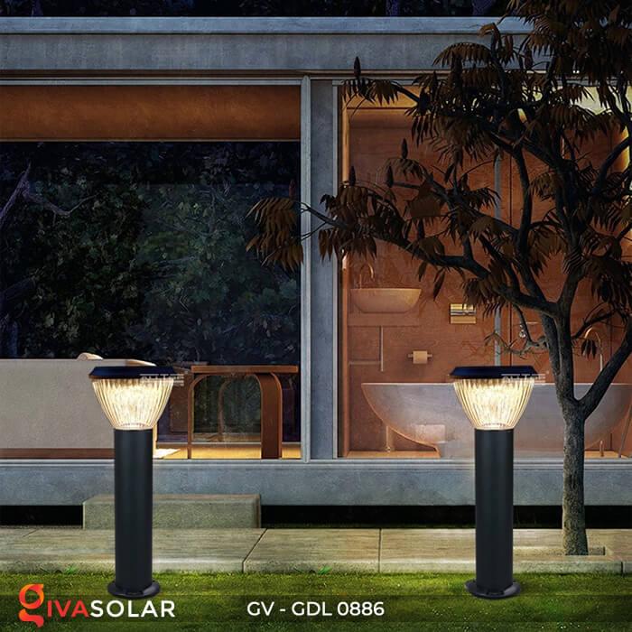 Đèn trụ sân vườn chạy năng lượng mặt trời GV-GDL0886 2