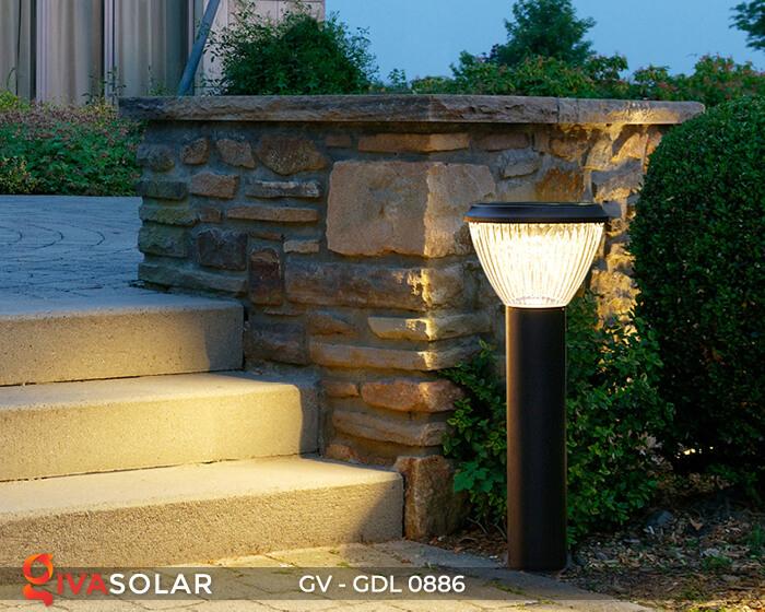 Đèn trụ sân vườn chạy năng lượng mặt trời GV-GDL0886 5