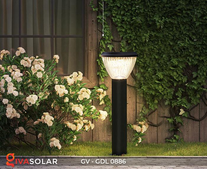 Đèn trụ sân vườn chạy năng lượng mặt trời GV-GDL0886 7