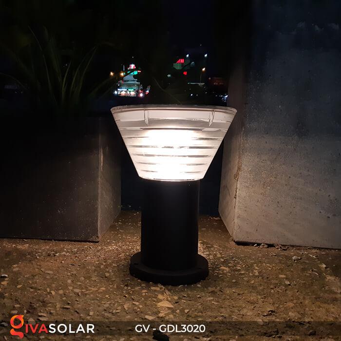 Đèn trụ sân vườn năng lượng mặt trời GV-GDL3020 10