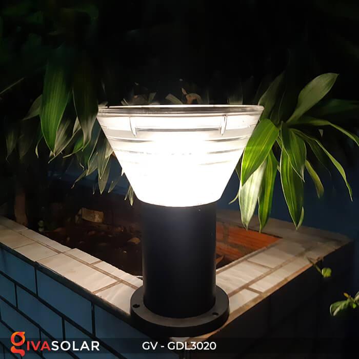 Đèn trụ sân vườn năng lượng mặt trời GV-GDL3020 11