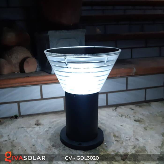 Đèn trụ sân vườn năng lượng mặt trời GV-GDL3020 13